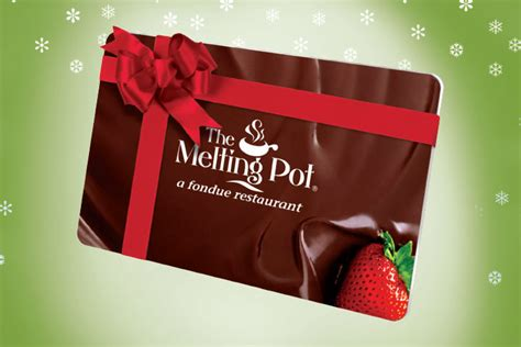 Where To Buy Melting Pot Gift Cards - the melting pot events and specials in maple shade nj