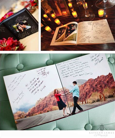 picture book idea turn engagement photos into a book and guest sign