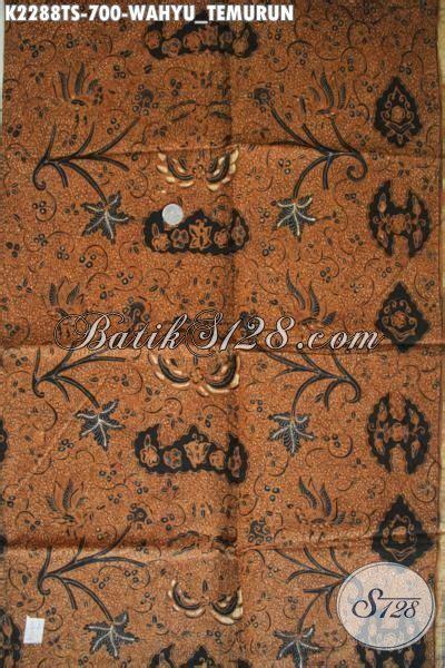 Batik Halus Khas Jogja Motif Wahyu Tumurun kain batik istimewa khas jawa tengah batik halus proses