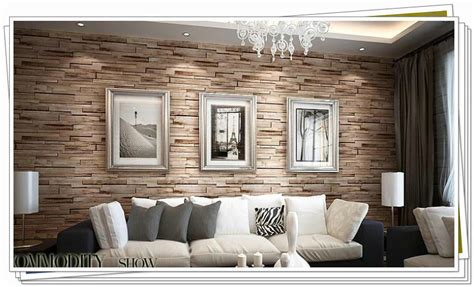 brown wallpaper for living room brick effect wallpaper topic discussions on thefretboard