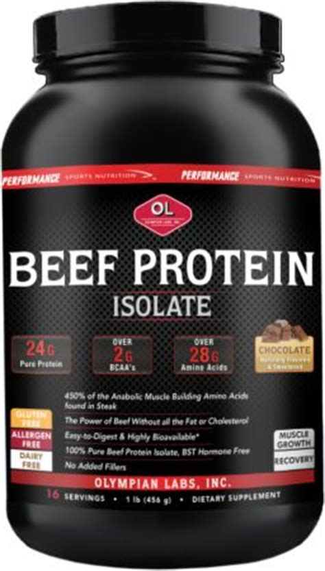 Beef Protein beef protein by olympian labs at bodybuilding best