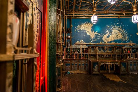 peacock room dc whistler s peacock room is reimagined in a state of oozing and broken decay at the smithsonian