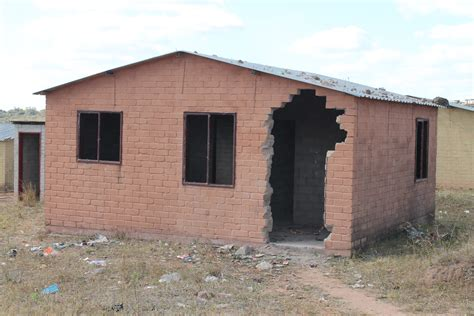 Floor Plans For Homes With A View vandalised rdp homes cause residents misery mpumalanga news