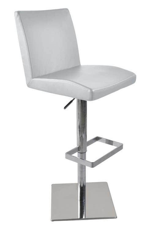 white leather bar stools contemporary modrest t 1068cn modern white eco leather bar stool