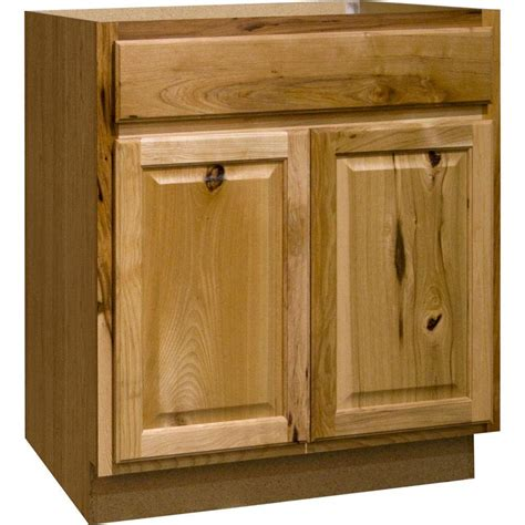 hickory cabinets hton bay hton assembled 30x34 5x24 in sink base