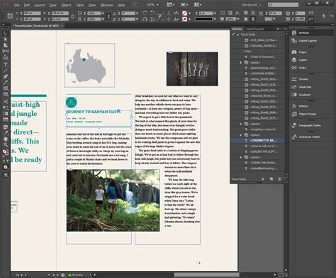 layout view indesign adobe indesign accessibility