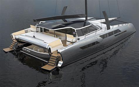 excess catamaran daedalus yachts starts construction on zero emission