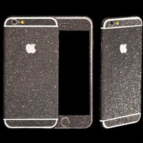 Fuze Glitter For Iphone 6 black glitter sticker skin iphone 6 iphone 6 plus iphone 5 5s 183 luxurious bling 183 store