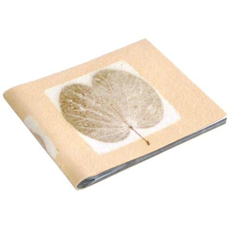 Wedding Album Leaf by Wedding Album Book 5x7 6x8 Photos 16pp Pale Sand Handmade