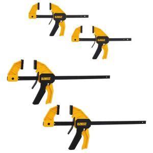 dewalt medium  large trigger clamp  pack dwht
