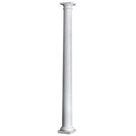 Home Depot Columns Hb G 8 In X 8 Ft Primed Wood Porch Column 105072 The