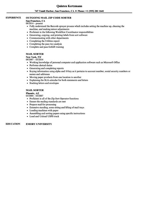 ideas collection mailroom clerk resume sample mailroom clerk resume