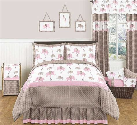 elephant bedding queen elephant pink taupe comforter set 3 piece full queen