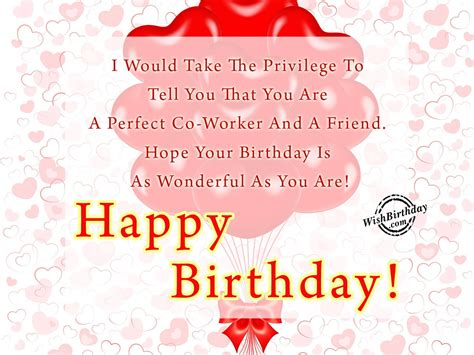 Happy Birthday Wishes For A Coworker Birthday Wishes For Colleague Birthday Images Pictures
