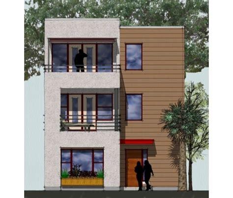 Unit House Plans by Green Townhouse Plan 3 Level Single Family Unit Duplex