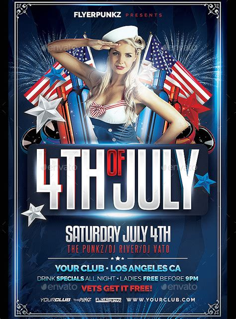 4th Of July Party Flyer Templates 17 event flyer templates for upcoming events and functions