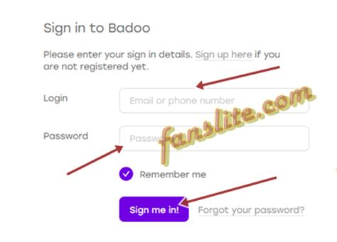 mobile badoo login badoo login badoo sign up how to create account www