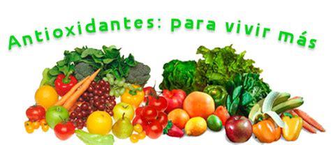 que alimentos son antioxidantes naturales vida sana antioxidantes