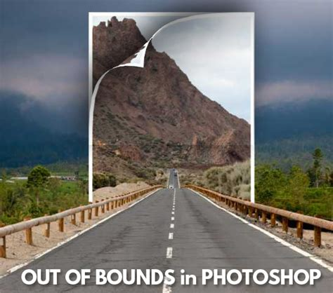 photoshop cs5 tutorial out of bounds photo effect out of bounds frame effect photoshop tutorials psddude