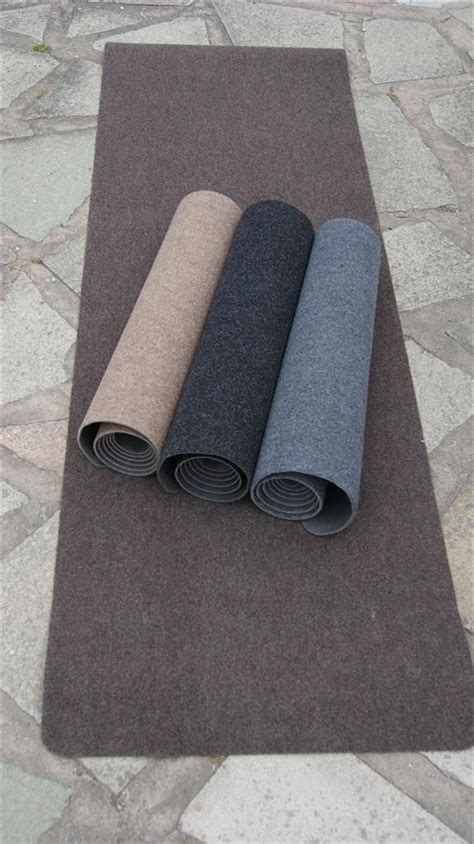 Rugs Cut To Size by Non Slip Rubber Backed Runner Rug Can Be Cut To Size Black