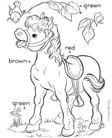 coloring pages for learning colors learn primary colors 019