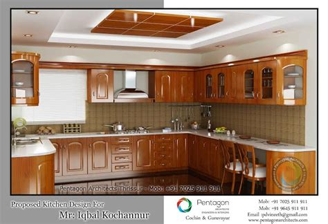 home interior design kitchen kerala traditional wooden style kitchen interior design
