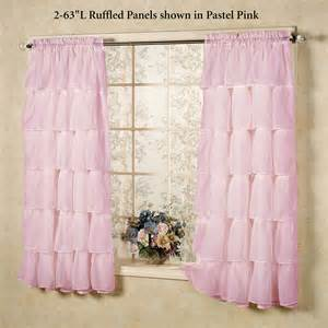 light pink ruffle curtains light pink ruffle curtains
