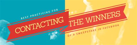 Sweepstakes Winners List - how to contact with the winners of a sweepstakes