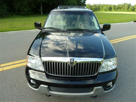 lincoln navigator 3rd row seat sell used 2004 lincoln navigator luxury clean carfax