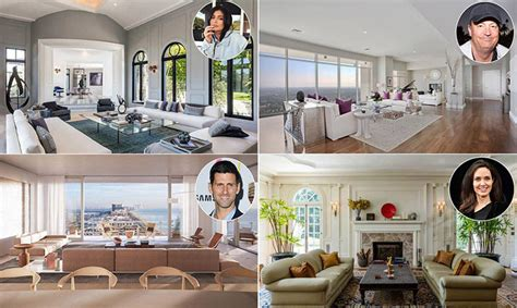 celebrity homes 10 stunning living rooms the top celebrity living rooms from angelina jolie to