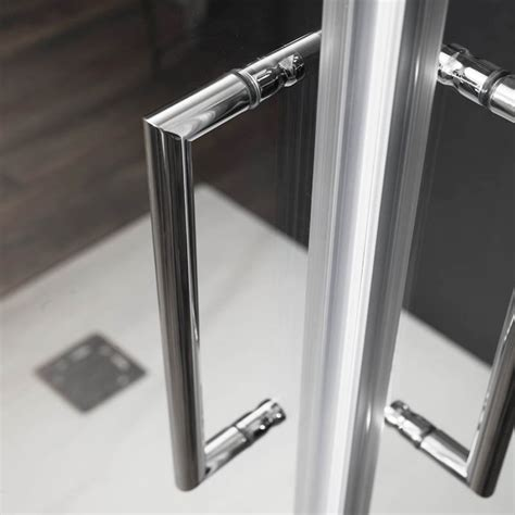 porta cristallo doccia porta doccia scorrevole 2 ante 150 cm in cristallo hera