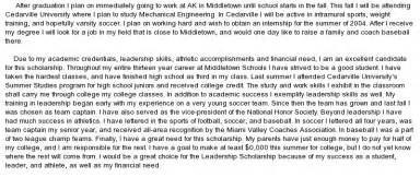 Scholarships Writing Essays by Why I Deserve This Scholarship Essay College
