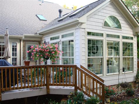 Sunroom Windows Cost Greensboro Winston Salem Sunroom 3 Season Room Or 4