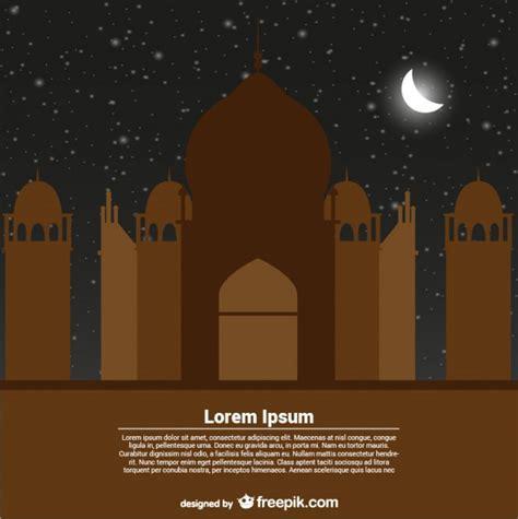 ramadan card templates greeting card template for ramadan kareem vector free