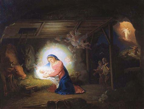 christian christmas nativity scene traditional catholic prayers nativity of christ