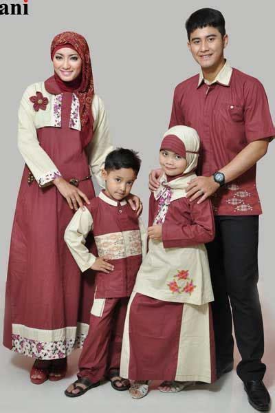 Model Busana Muslim Keluarga baju muslim sarimbit keluarga di tanah abang hairstylegalleries