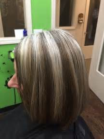 color highlights to blend gray into brown hair blending gray hair with lowlights
