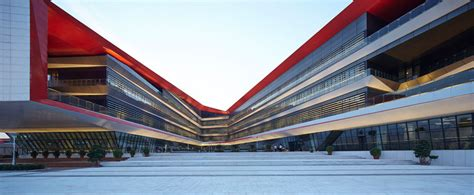 designboom school hhd fun develops vast sustainable high school in tianjin china