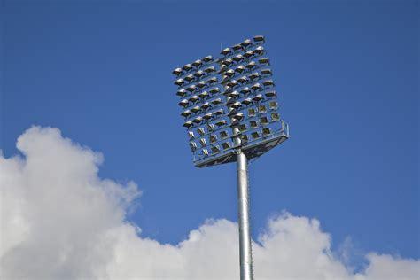 Flag Lights by Growers Stadium Spunlite Poles