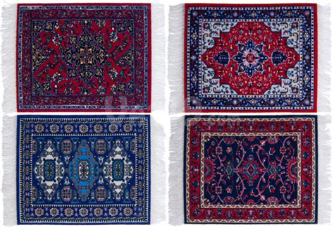 Rug Coaster by Coasterrugs Washable Colorfast And Absorbent Coasters