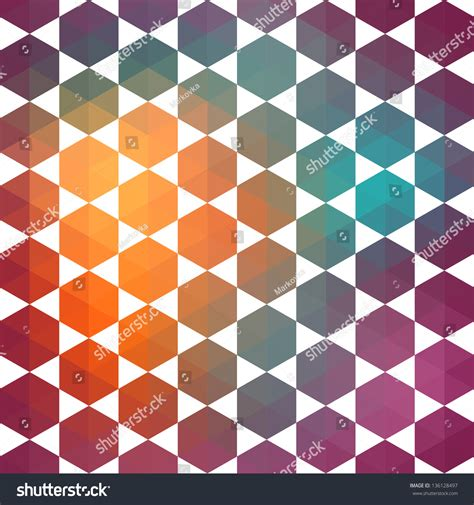 pattern shapes top marks retro pattern of geometric shapes triangle colorful