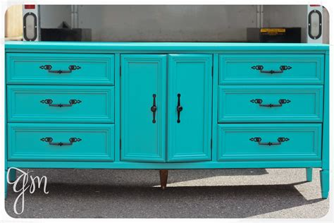 Turquoise Dresser sold nifty turquoise dresser redesign vibrant vintage