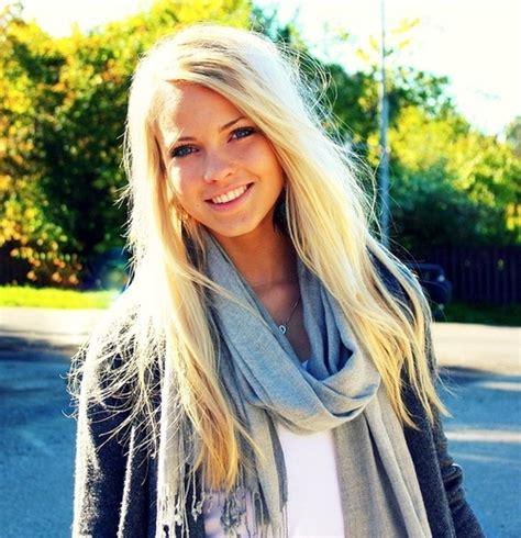 beautiful blonde emilie nereng fake fashion girl image 75341 on favim com