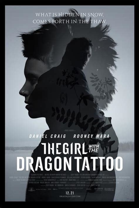 the girl with the dragon tattoo cast with the trailer