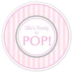 Ready To Pop Stickers Template by Pink Babies And Ready To Pop On