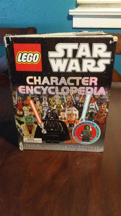 find more lego star wars character encyclopedia for sale - Lego Star Wars Characters For Sale
