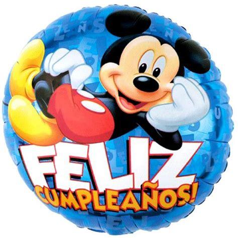 imagenes feliz cumpleaños mickey mouse feliz cumplea 241 os con mickey mouse imagui