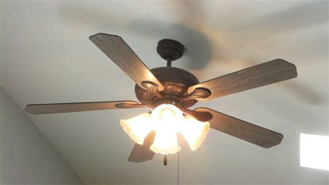 ceiling fan globes walmart walmart 52 quot bronze ceiling fan youtube