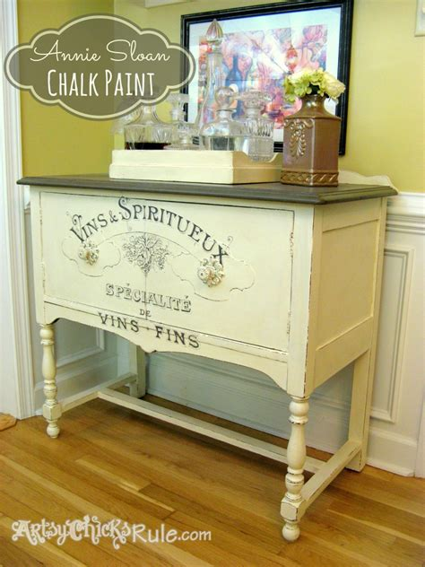 chalk paint vintage antique dresser makeover stripped restained repainted