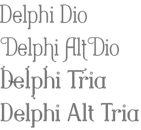 wedding font lithuanian delphi font by positype a decorative multi line typeface